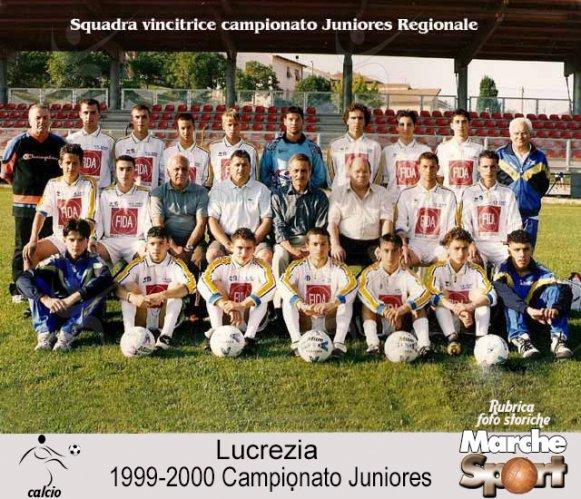 FOTO STORICHE - Juniores Lucrezia 1999-00