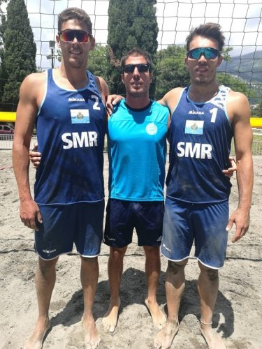 Beach Volley/ San Marino alla Continenta Cup in Serbia