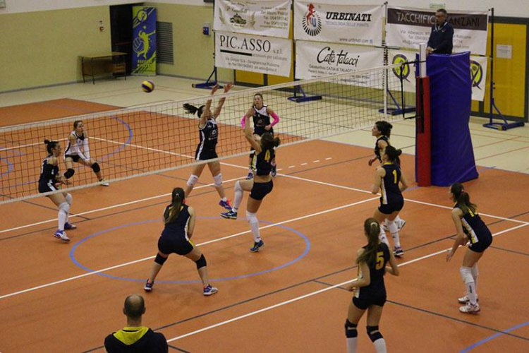 Rubicone In Volley-Gut Chemical Bellaria 3-1 (14-25 / 25-18 / 25-10 / 25-23 )
