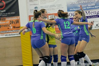 Riccione Volley-Cattolica Volley 3-1