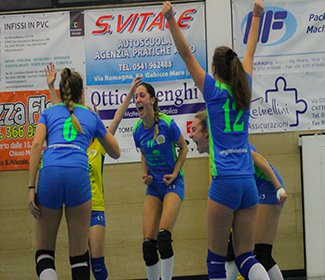 Cattolica volley ASD - Rubicone in volley RIV: 0-3